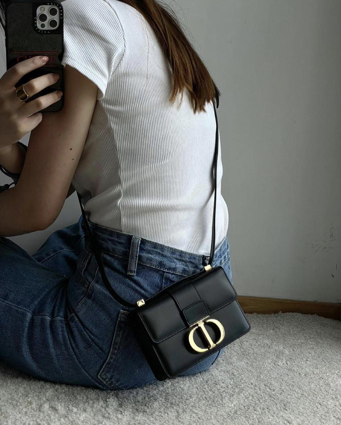 túi xách micro Dior 30 Montaigne Micro
