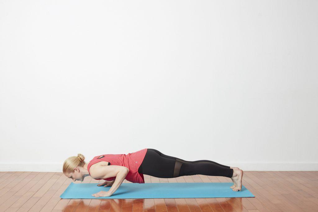Bài tập cardio yoga Low Plank Pose