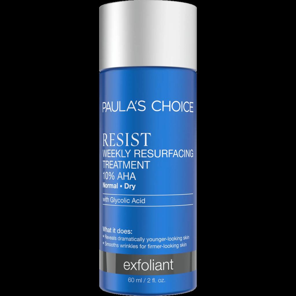 PAULA'S CHOICE Resist Weekly Resurfacing Treatment 10% AHA trị mụn đầu đen hiệu quả
