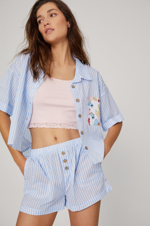 Áo ngủ pyjama cotton