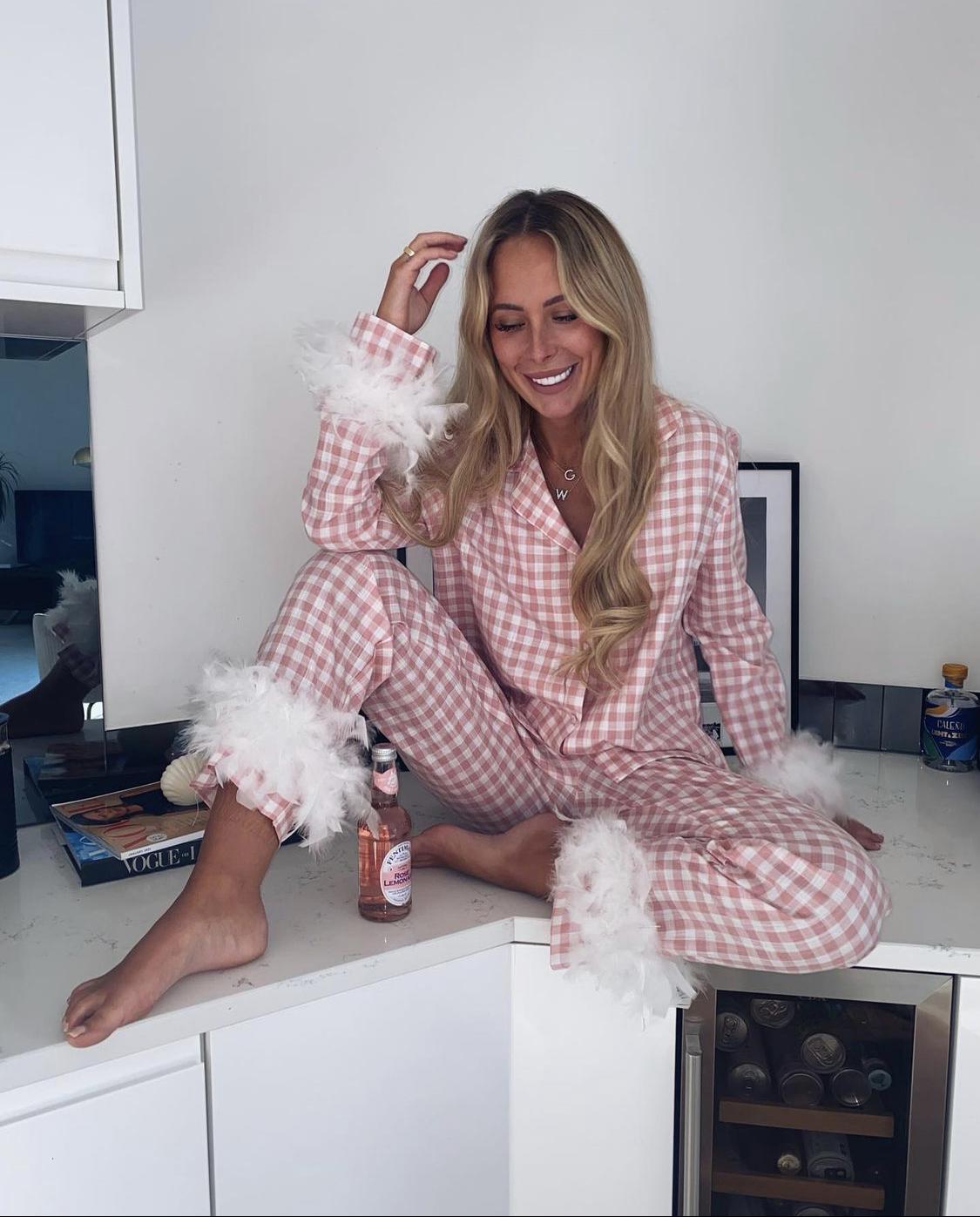 Pyjama vải cotton kẻ sọc