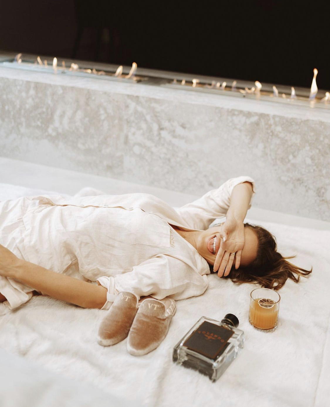 pyjama linen kem