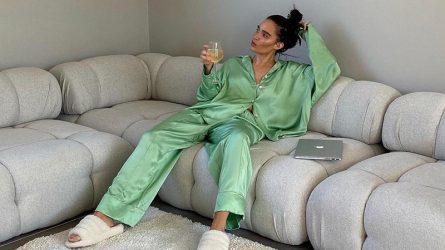 #ELLEstayinginfashion – 3 chất liệu vải lý tưởng cho trang phục pyjama mùa giãn cách
