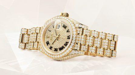 Rolex Oyster Perpetual Lady-Datejust: Bản giao hưởng ánh sáng