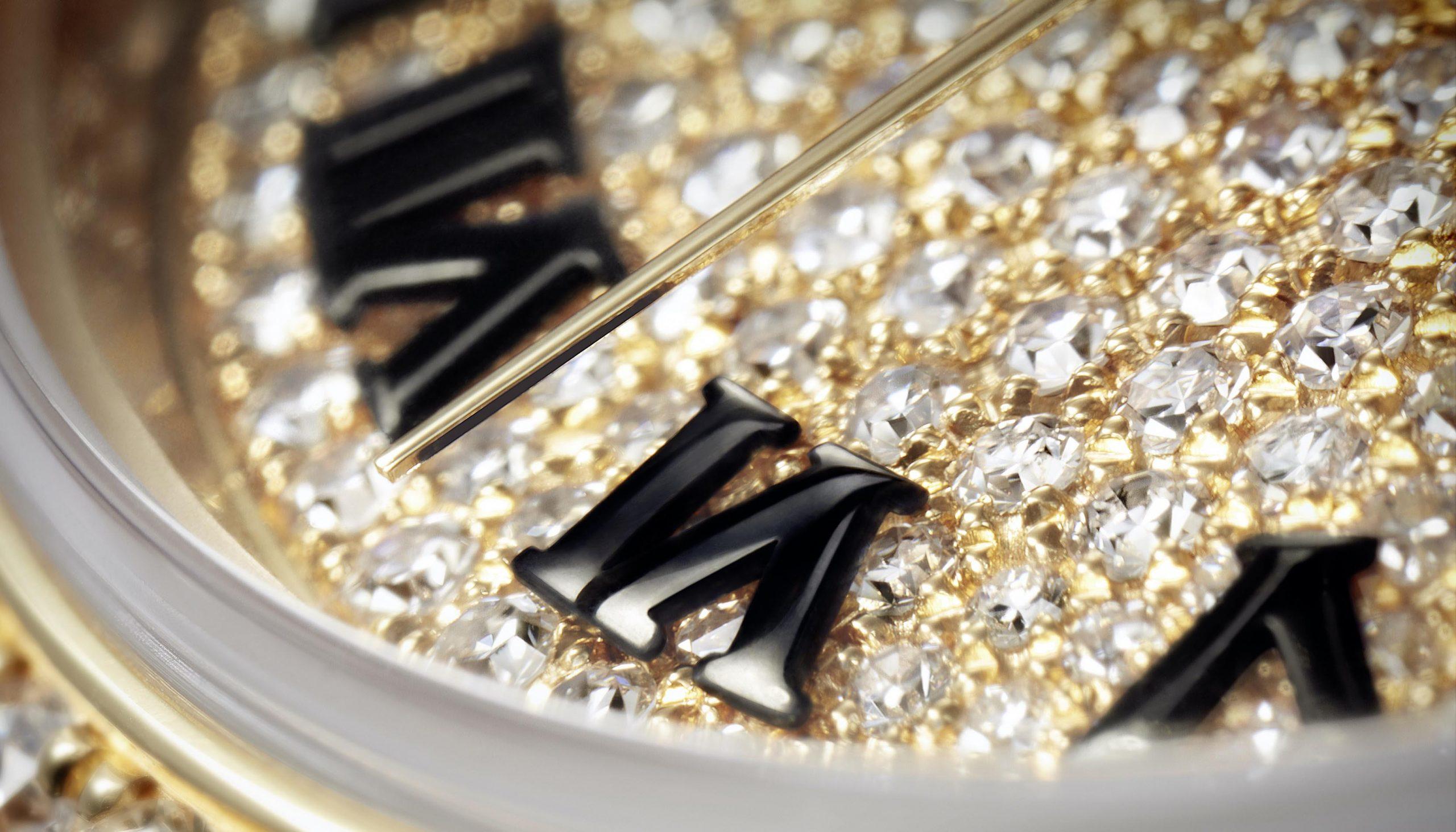 mặt số đính kim cương của đồng hồ Rolex Oyster Perpetual Lady-Datejust