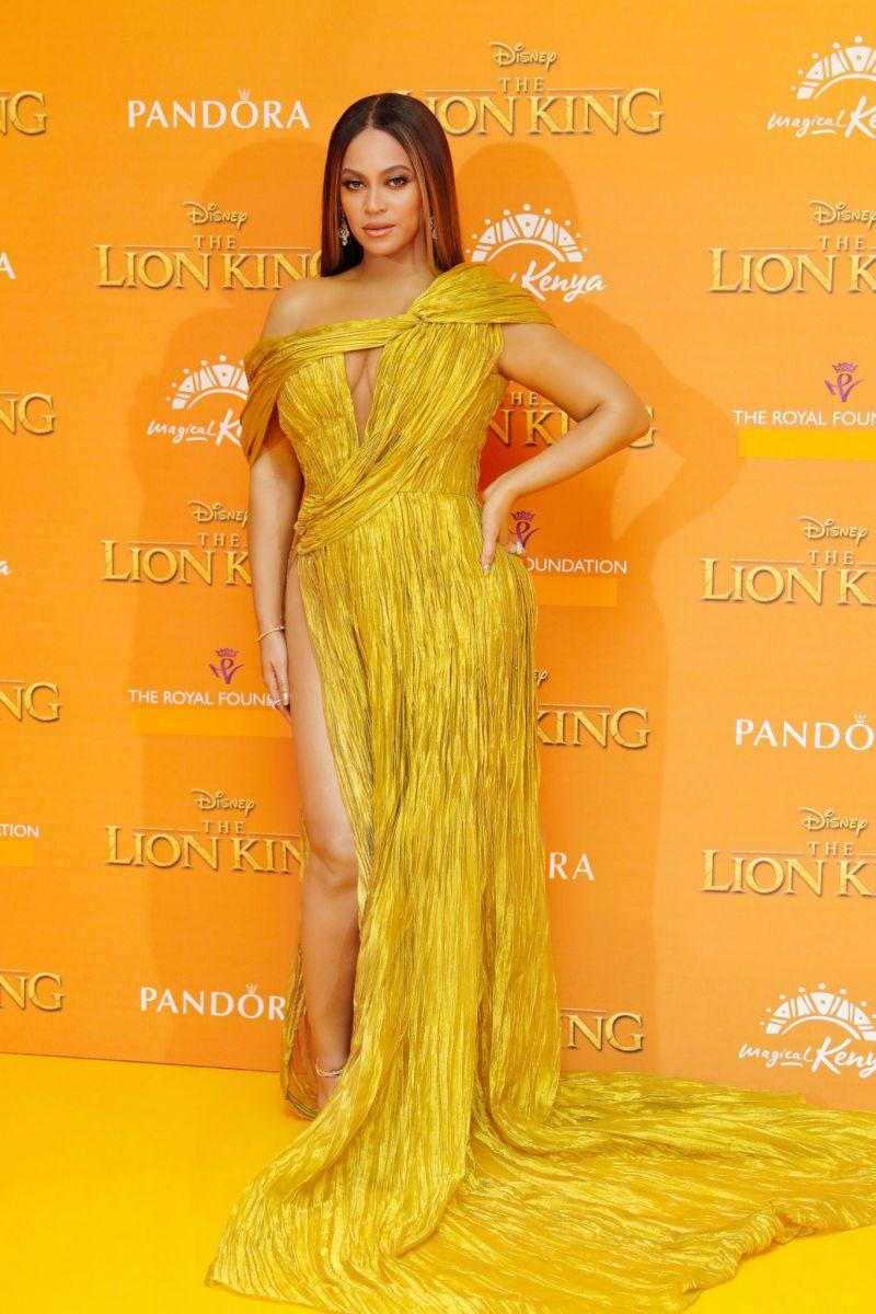 Beyoncé Lion King Premiere in Công Trí