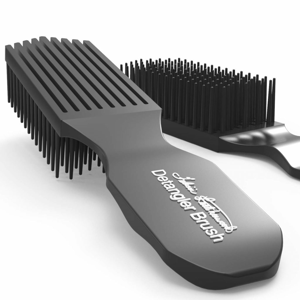 Lược chải tóc Facilia Leatherwood Detangler Brush