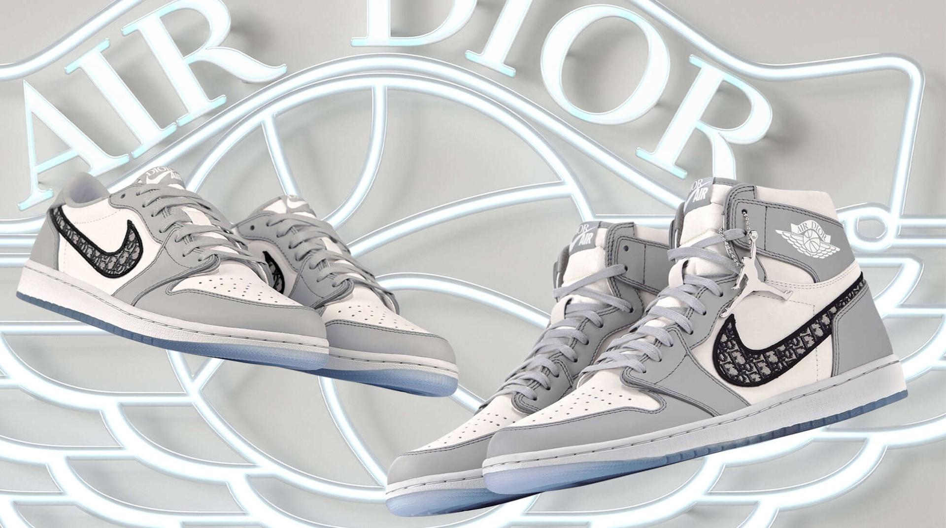 Nike kết hợp cùng Dior