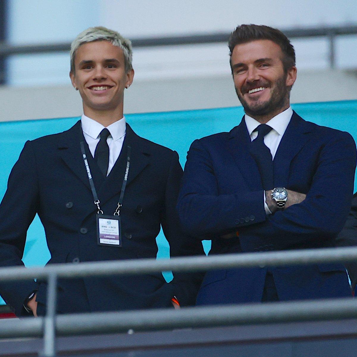 Romeo và David Beckham