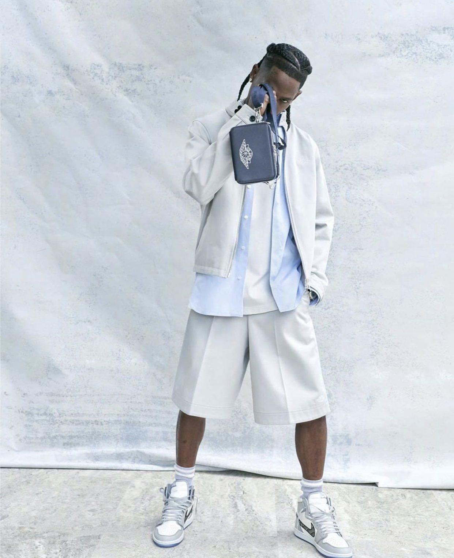 Dior Air Jordan Travis Scott