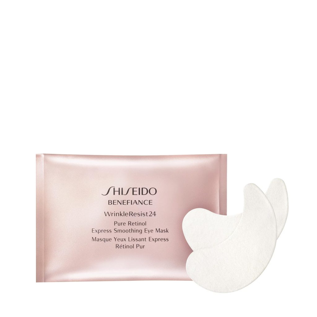 Mặt nạ mắt Shiseido Benefiance Wrinkle Resist 24 Pure Retinol Express Smoothing