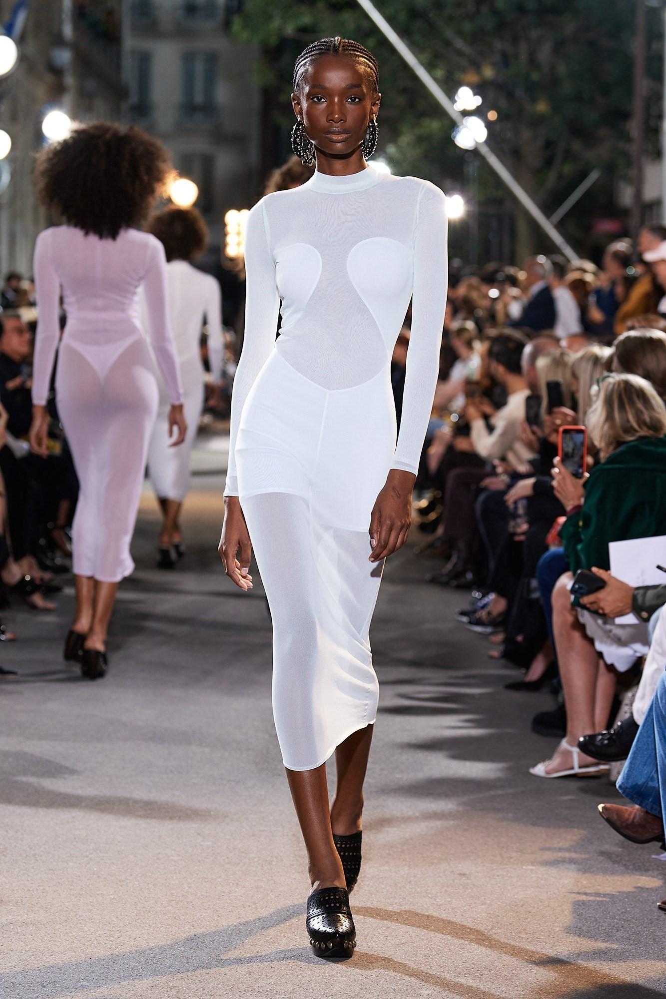 váy dệt kim Spring 2022