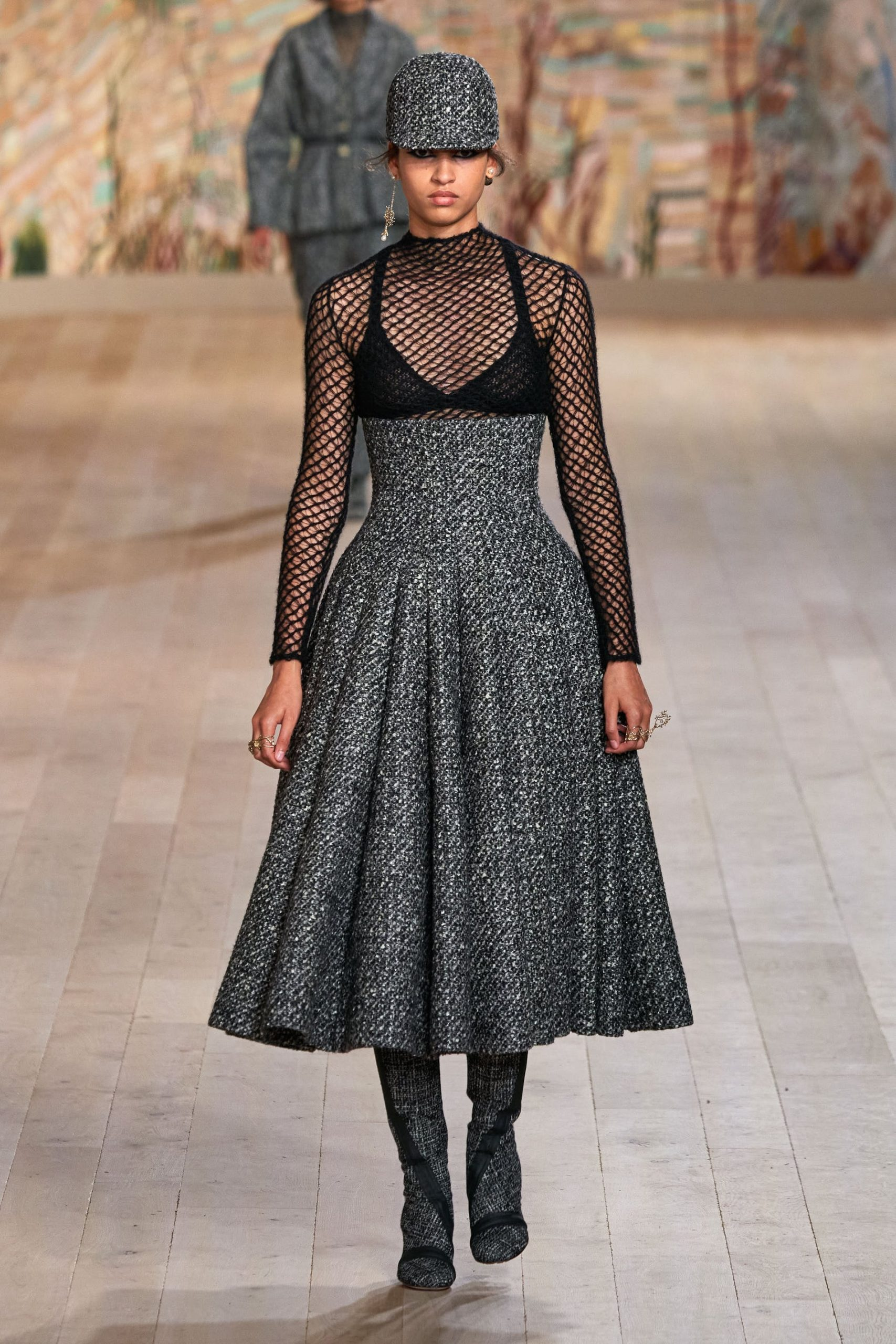 váy tweed Dior