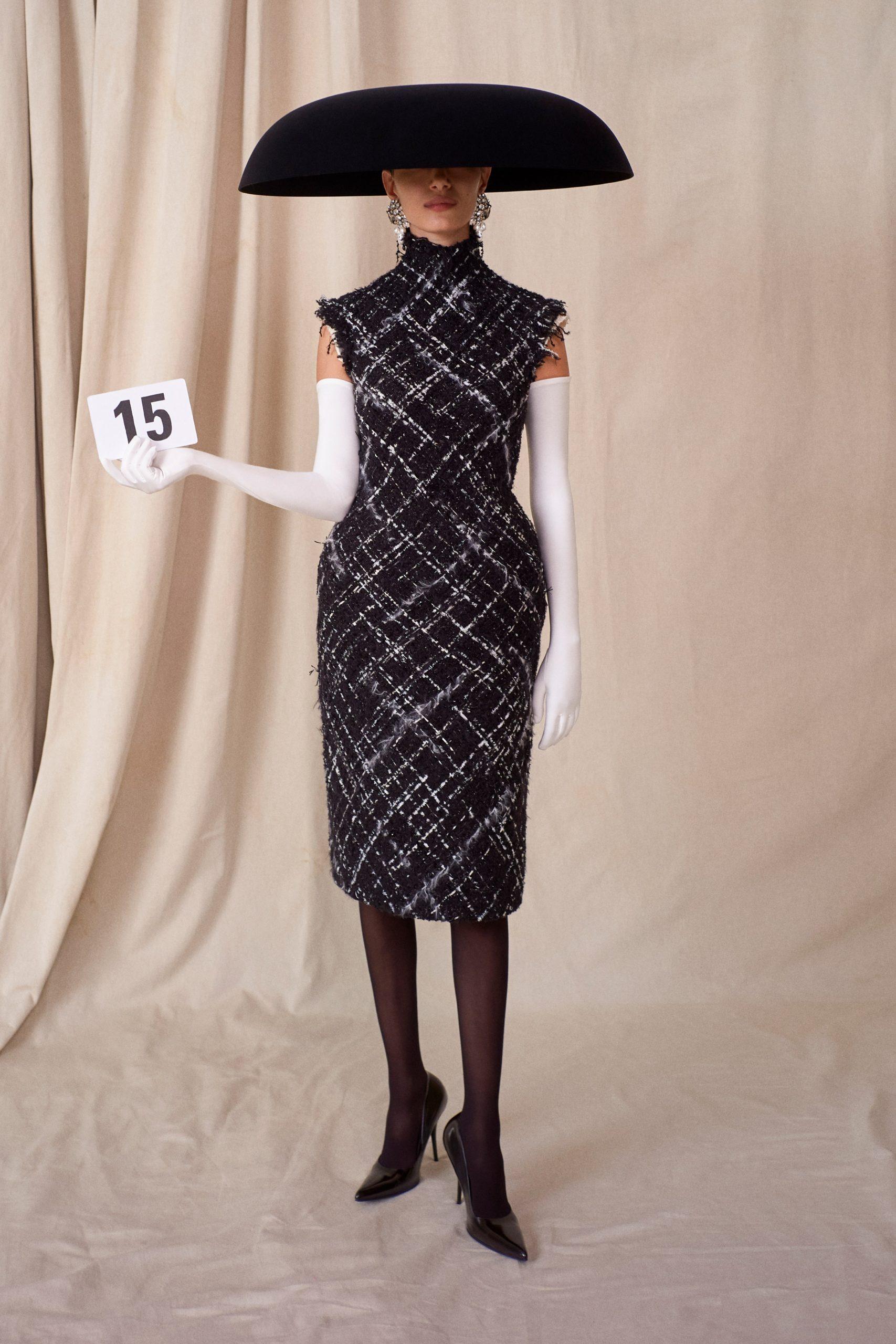 Haute Couture look 15 Balenciaga
