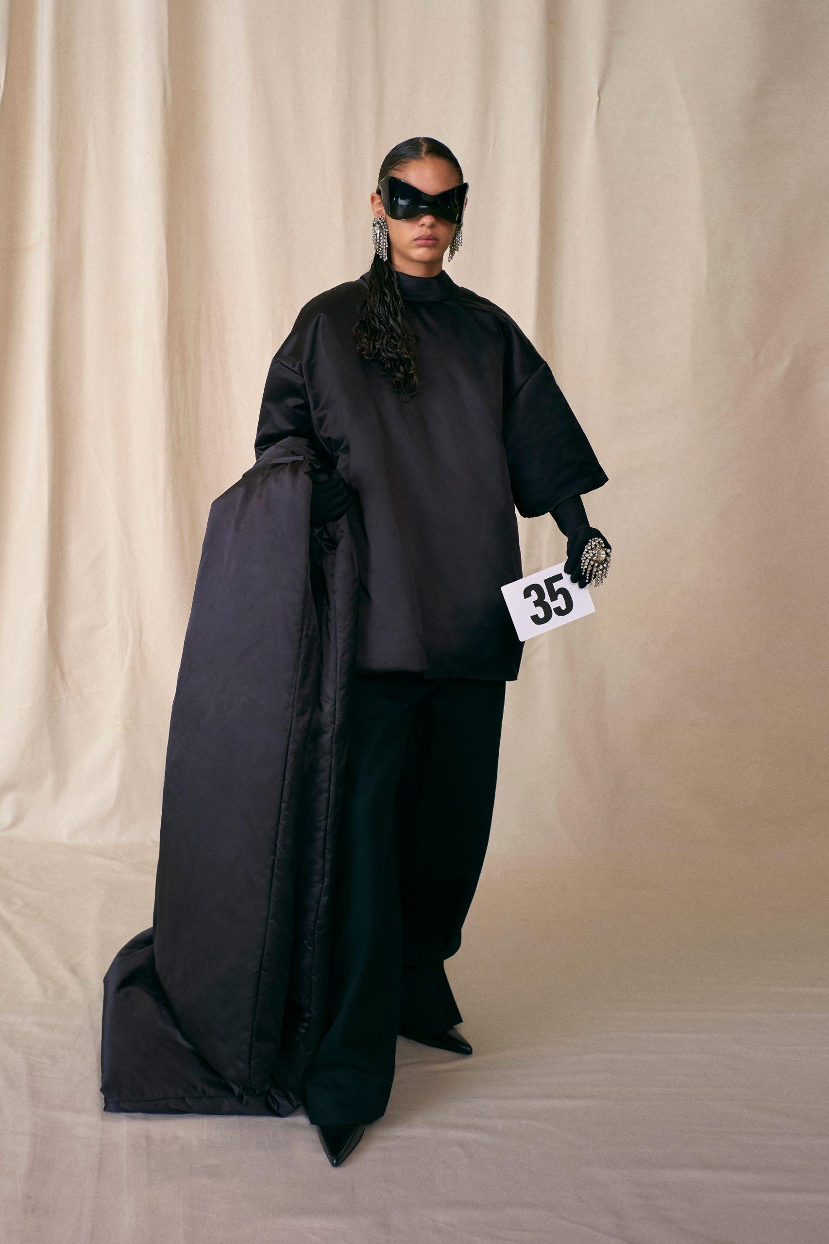 Look 35 Haute Couture Balenciaga