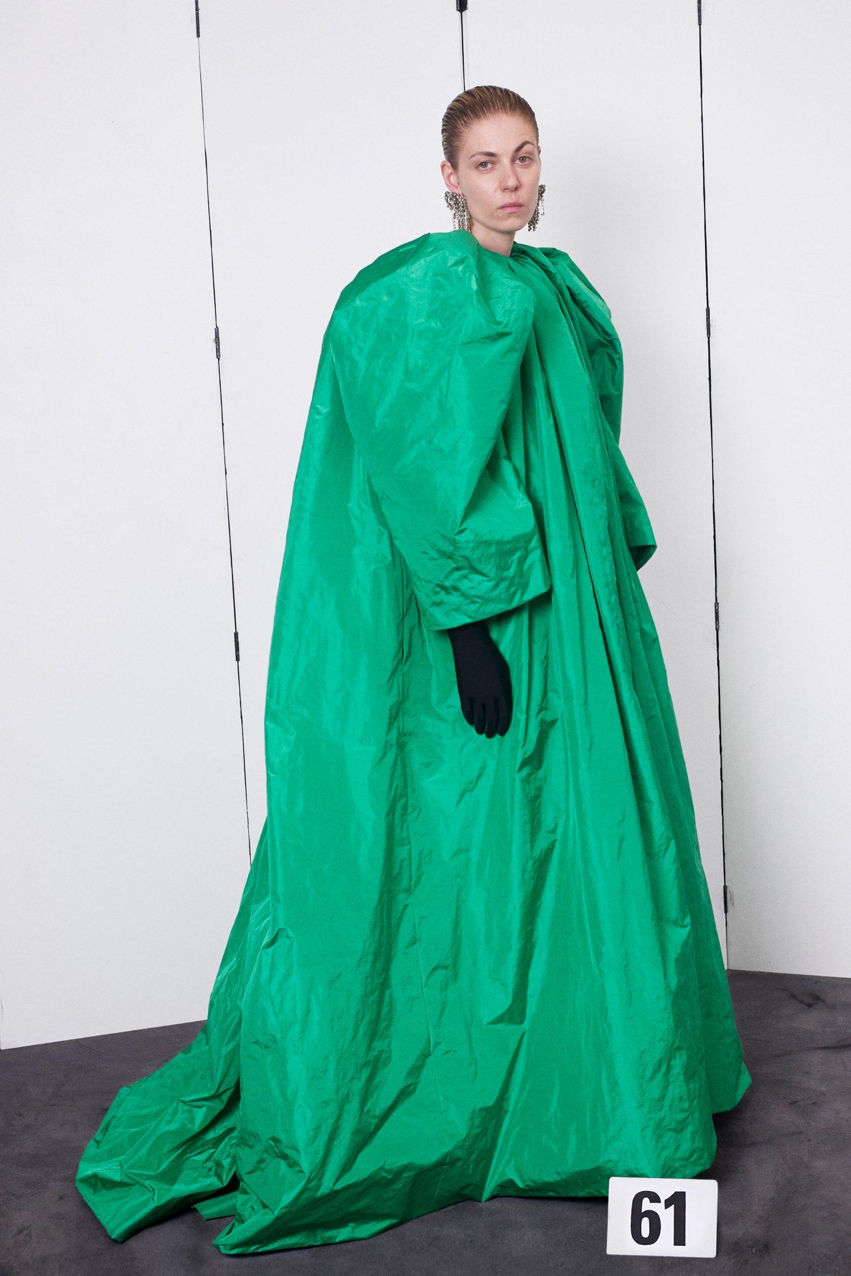 Haute Couture Look 61 Balenciaga