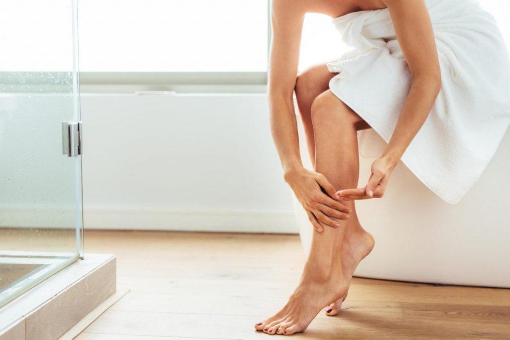Tắm đúng cách giúp da mịn màng hơn
