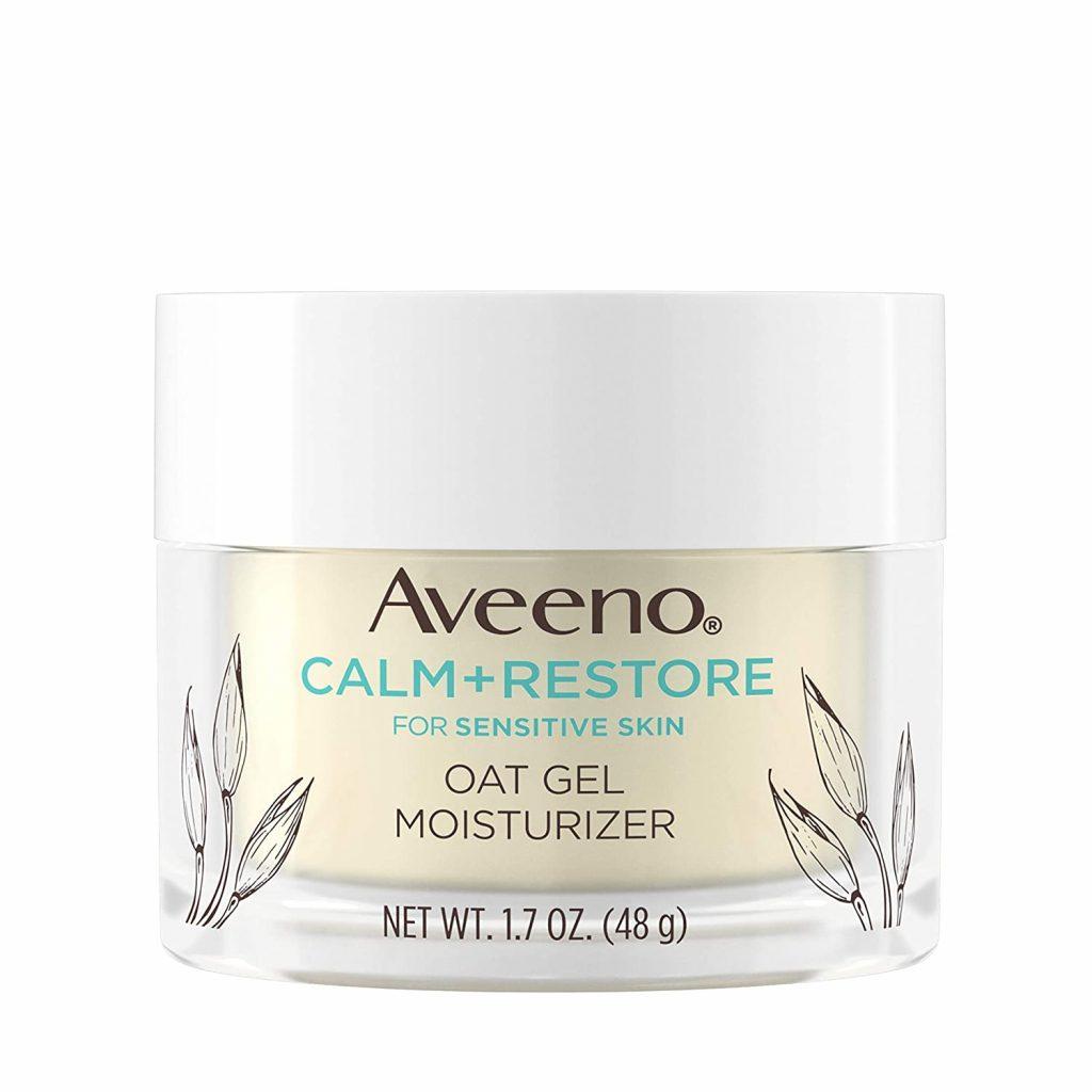Gel dưỡng ẩm chứa rau má Aveeno Calm + Restore Oat