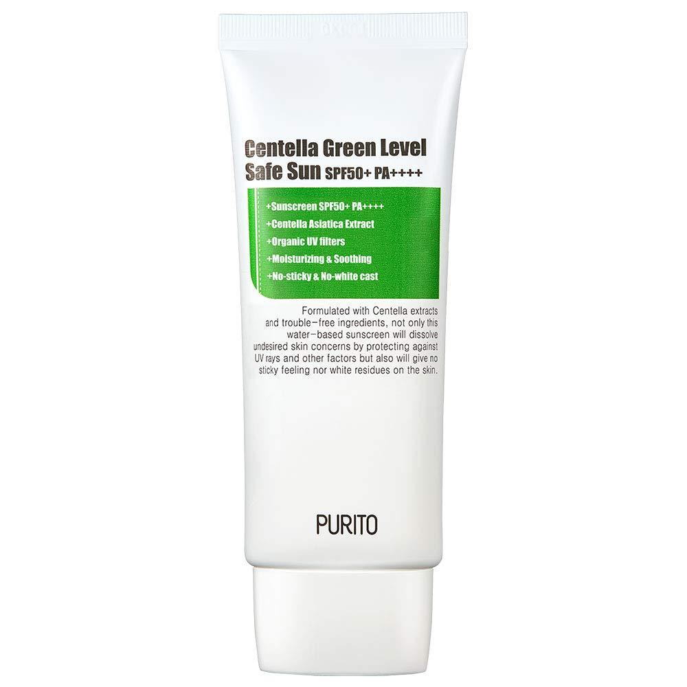 Kem chống nắng chứa tinh chất rau má Purito Centella Green Level Safe/Unscented Sun Spf 50+ Pa++++