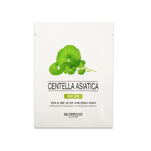 Mặt nạ rau má Skinfood Beauty in A Food Mask Sheet Centella Asiatica