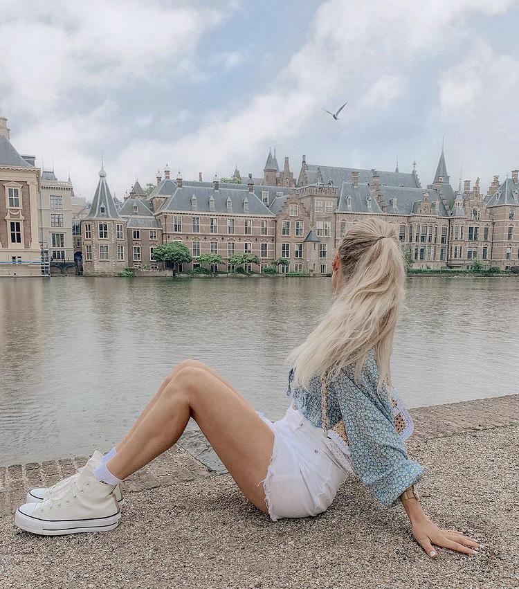 Giày converse cao cổ trắng