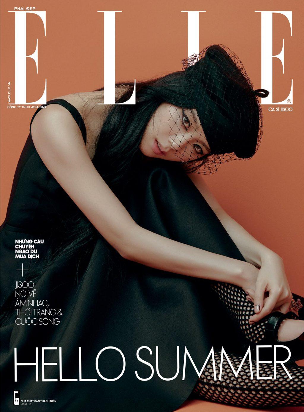 Tạp chí Phái đẹp gương mặt trang bìa Jisoo