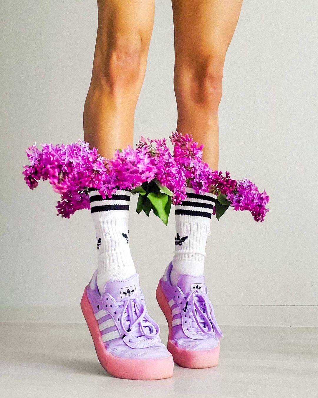 sneakers tím