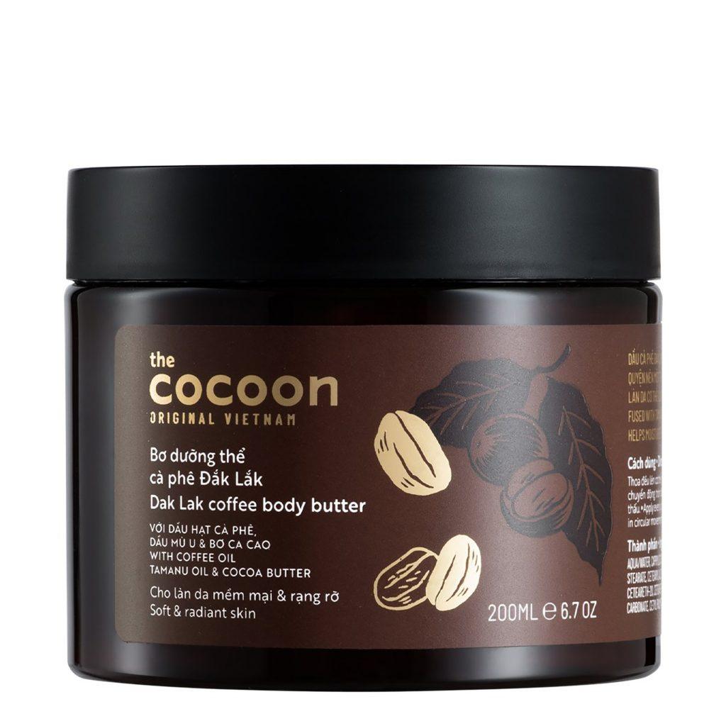 dưỡng thể sản phẩm thương hiệu Cocoon