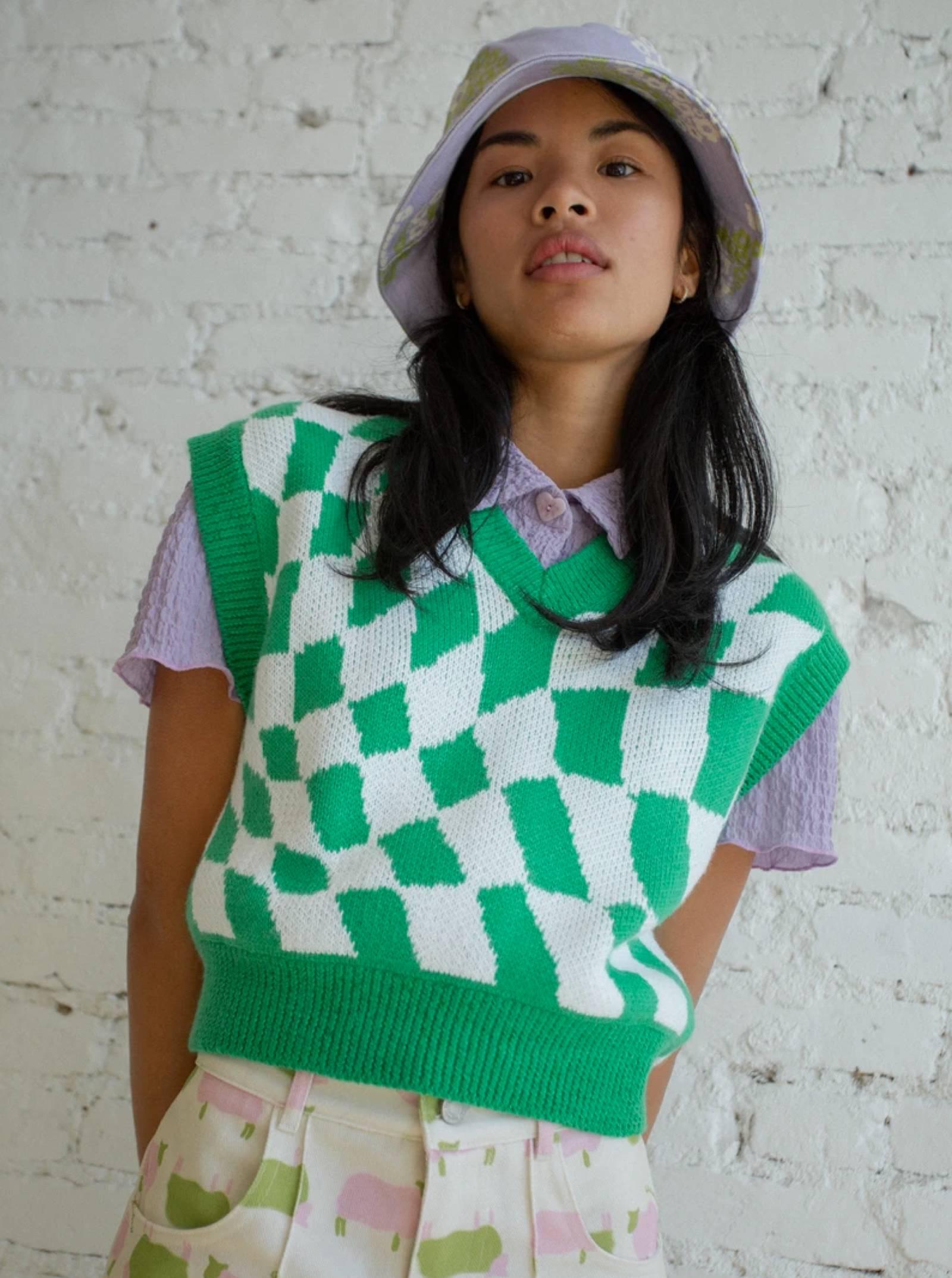 Lisa Says Gah gile vest thời trang
