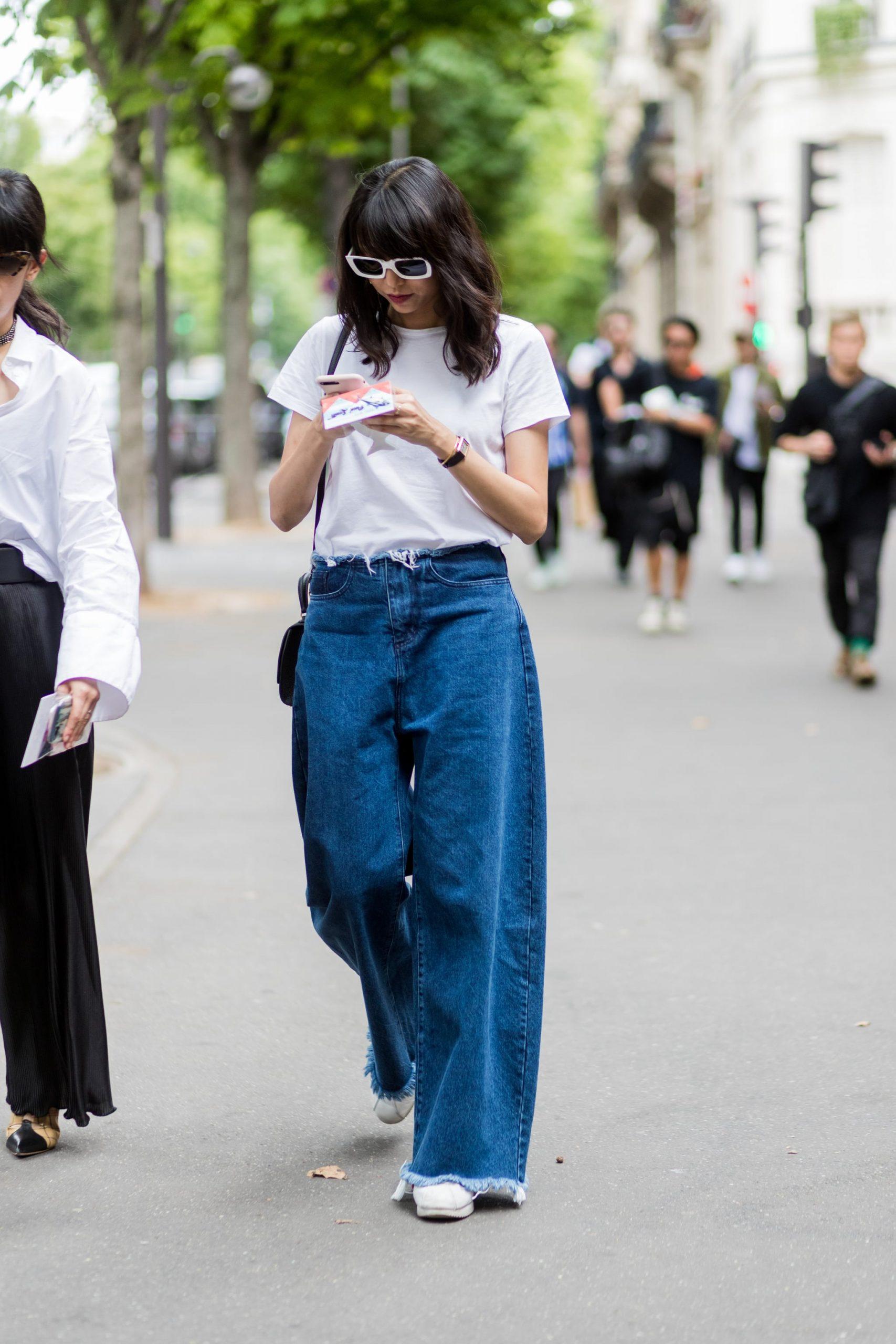 thời trang hàng ngày baggy jeans