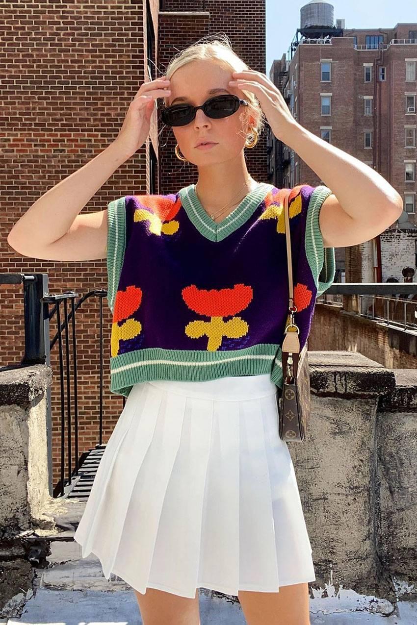 Crop vest thời trang