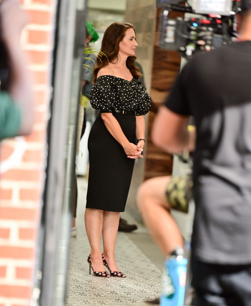 kristin davis outfit and just like that