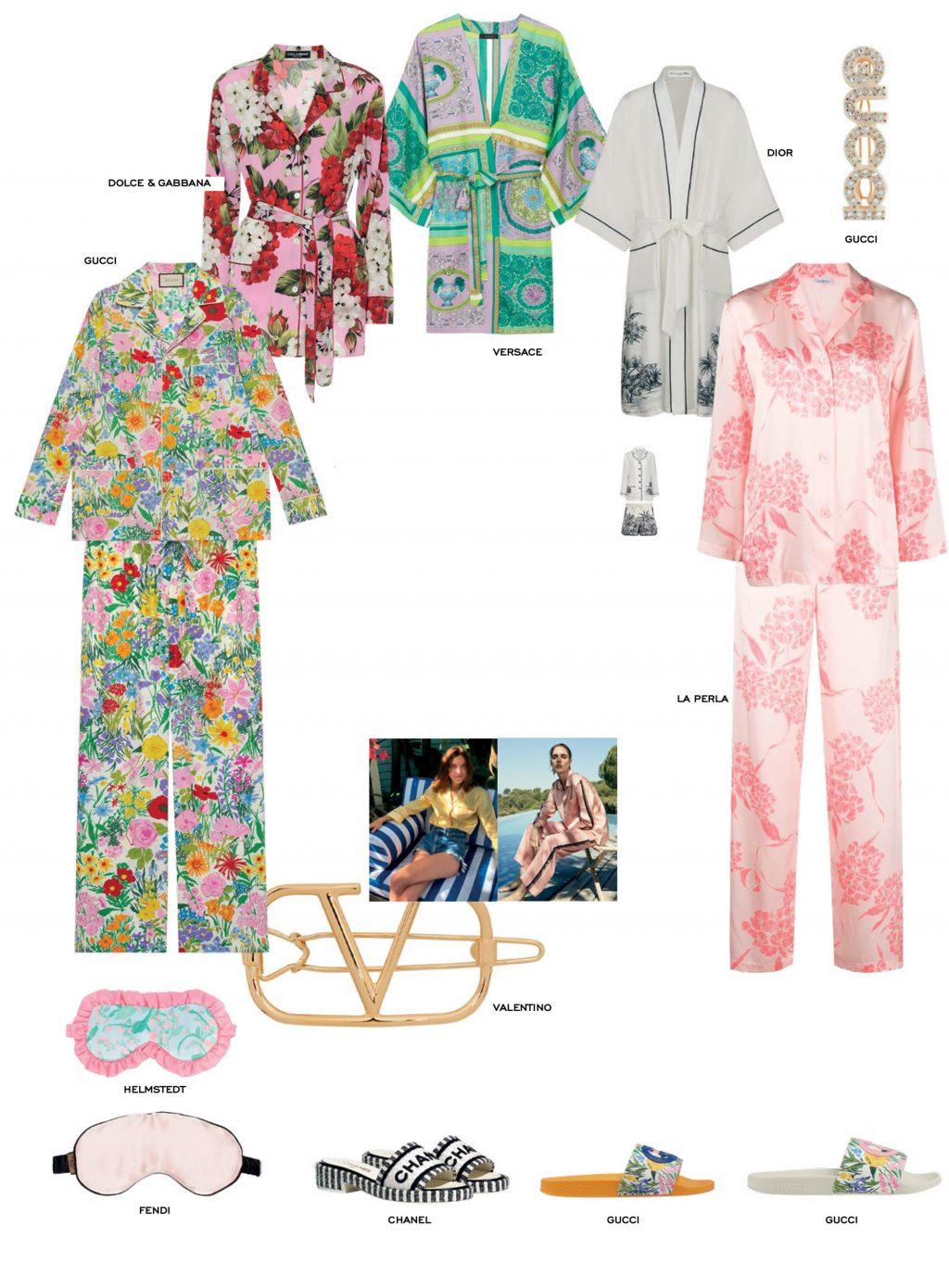 áo ngủ pyjama