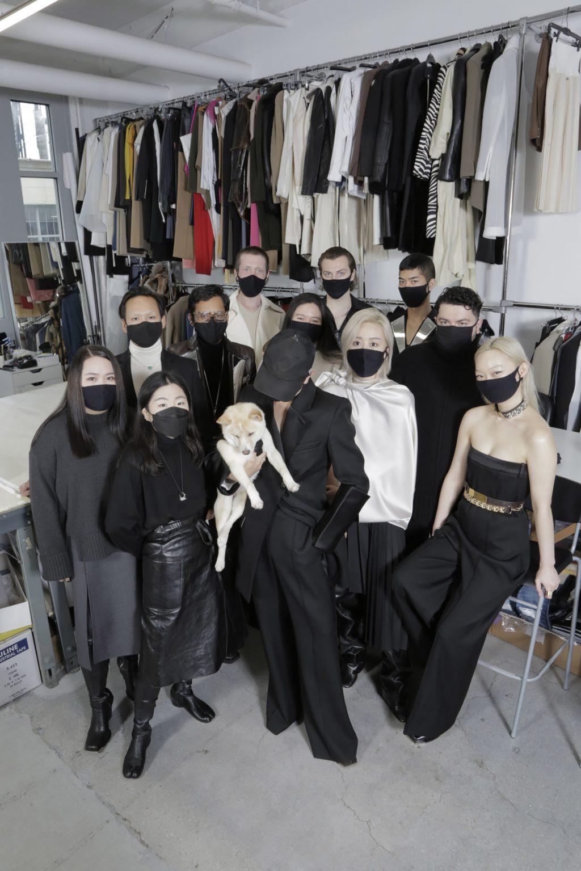 Peter Do tham gia fashion week