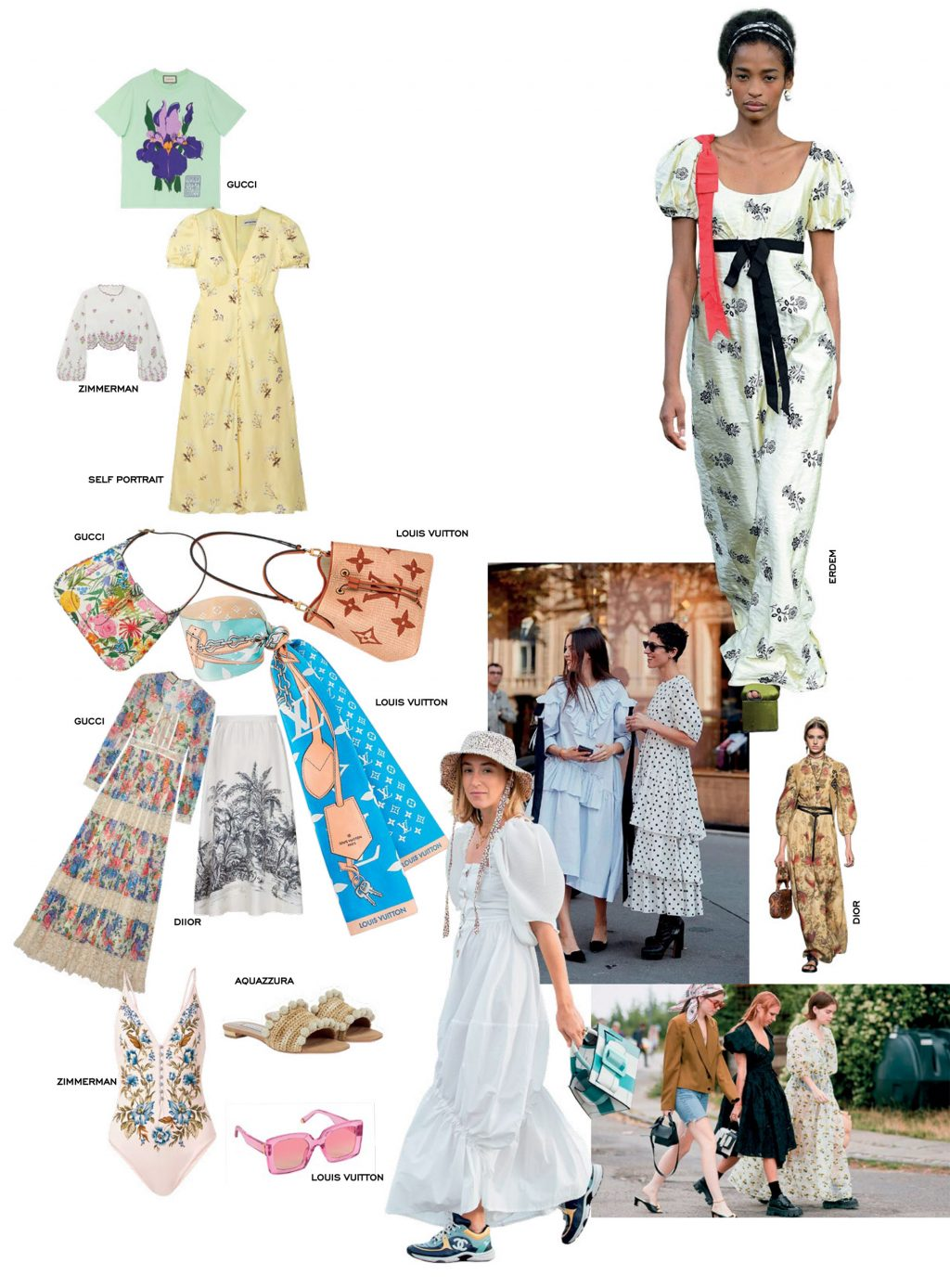 thời trang đồng quê cottagecore