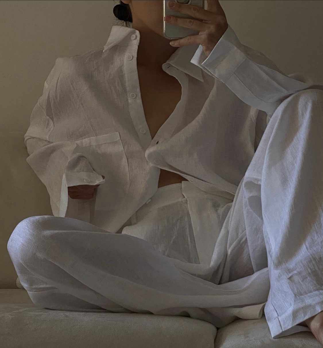 quần linen