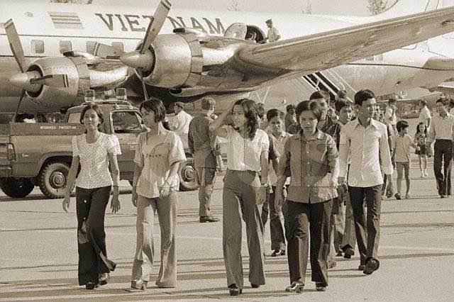 Thời trang Sài Gòn quần ống loe