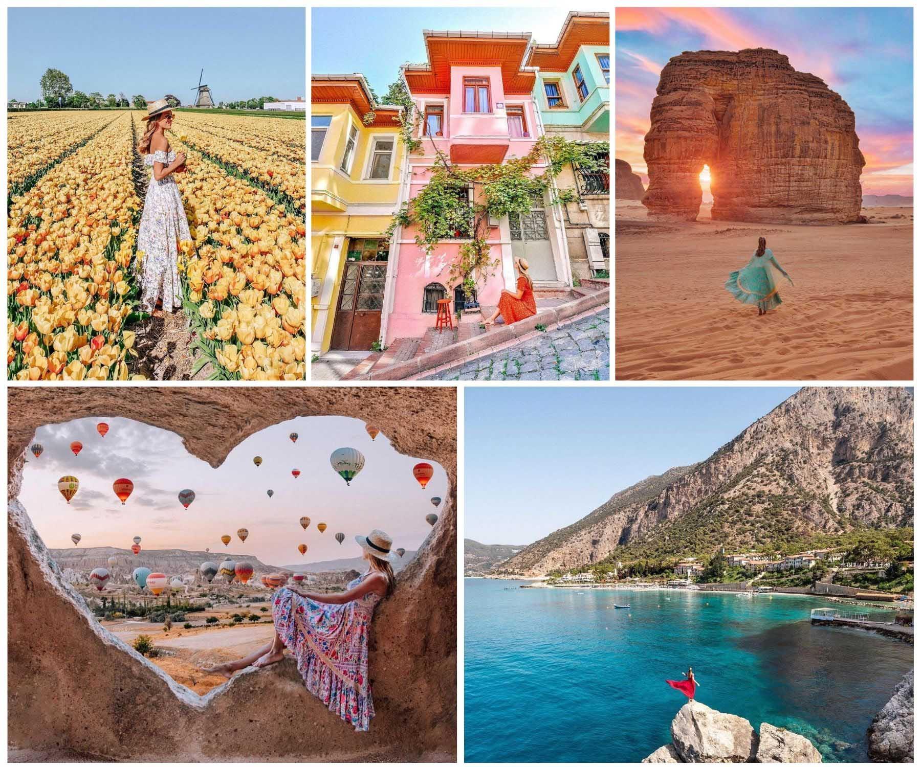 tài khoản instagram du lịch izkiz