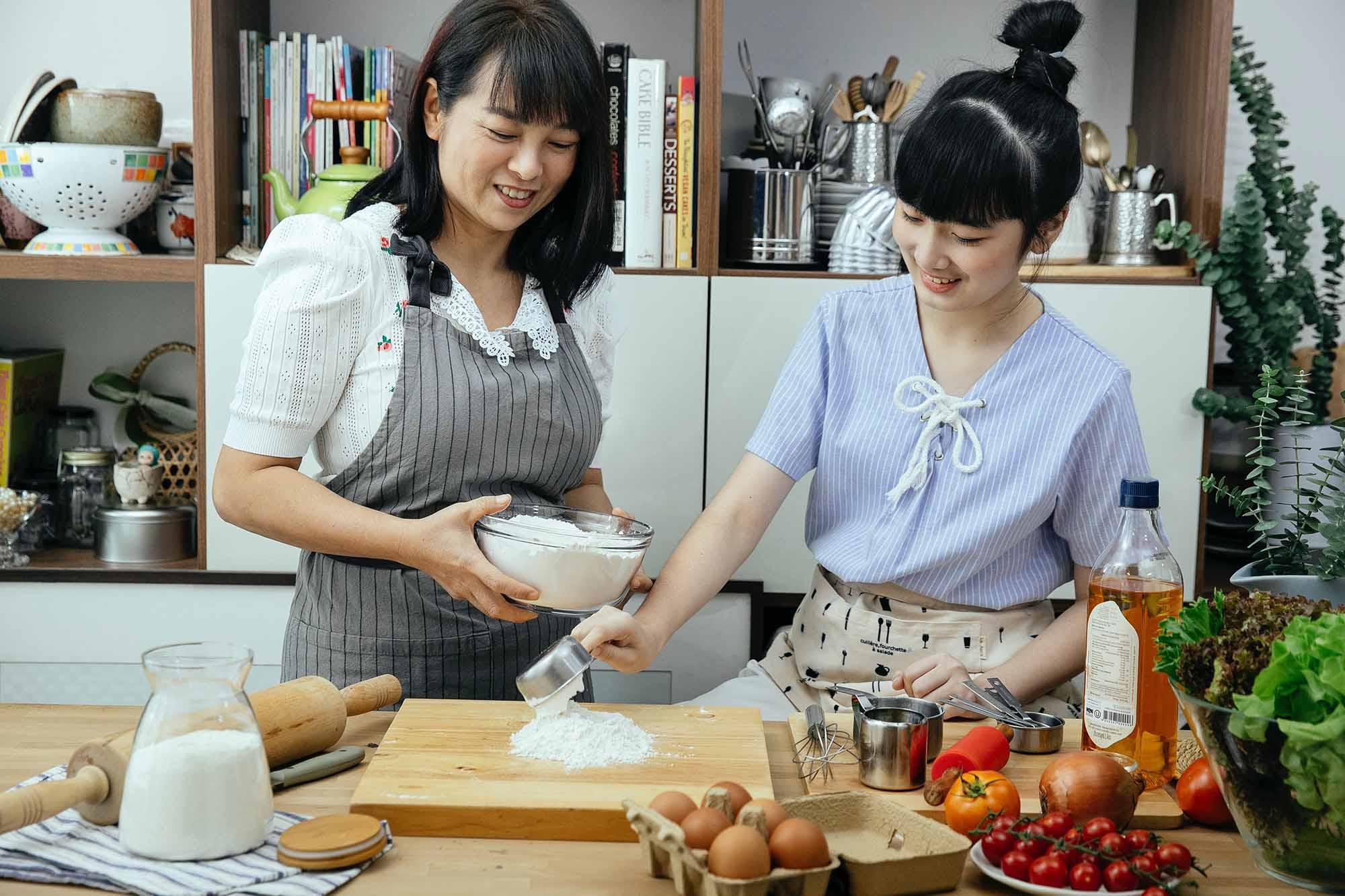 nấu ăn giúp giải tỏa tâm trạng