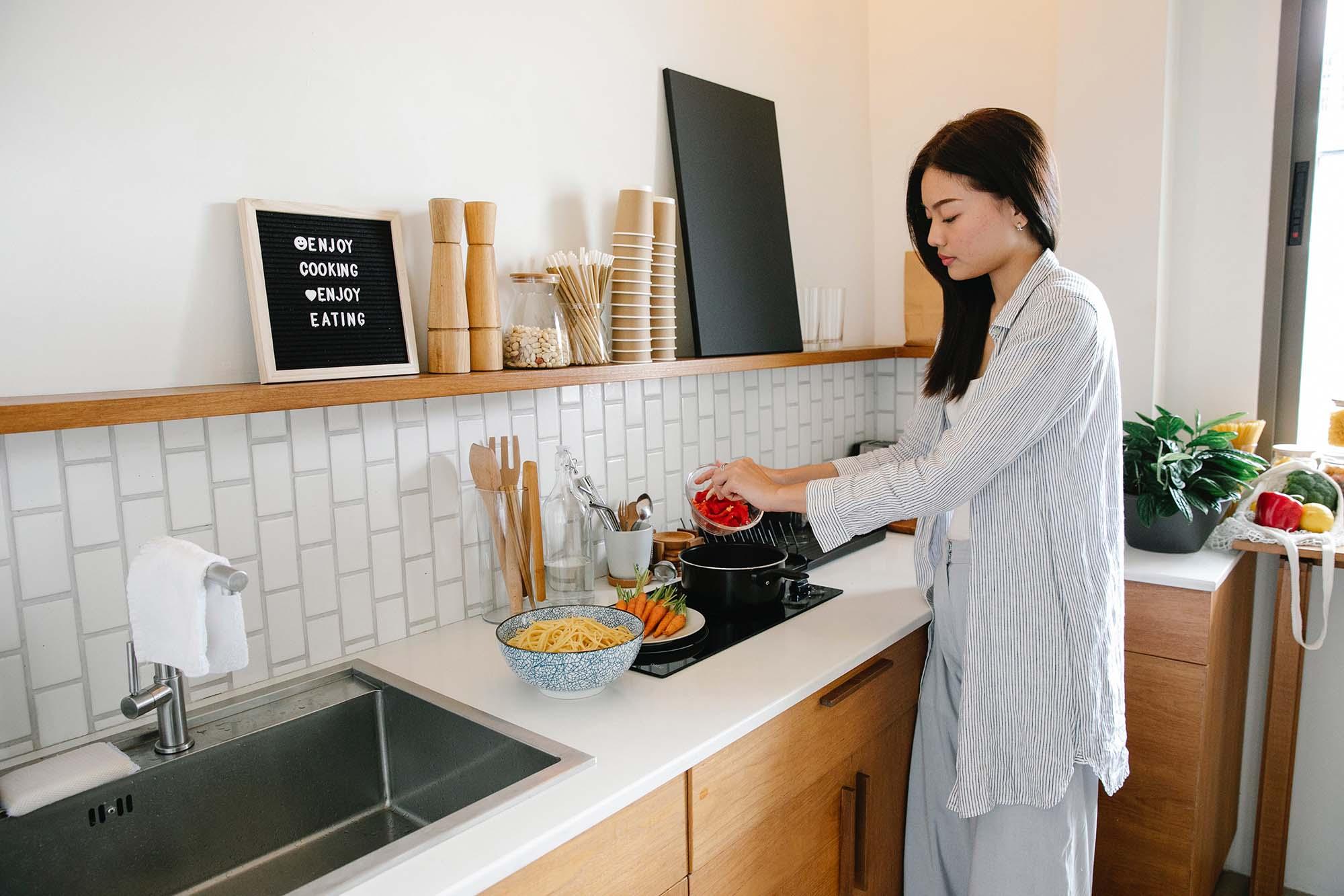 nấu ăn giúp giảm căng thẳng