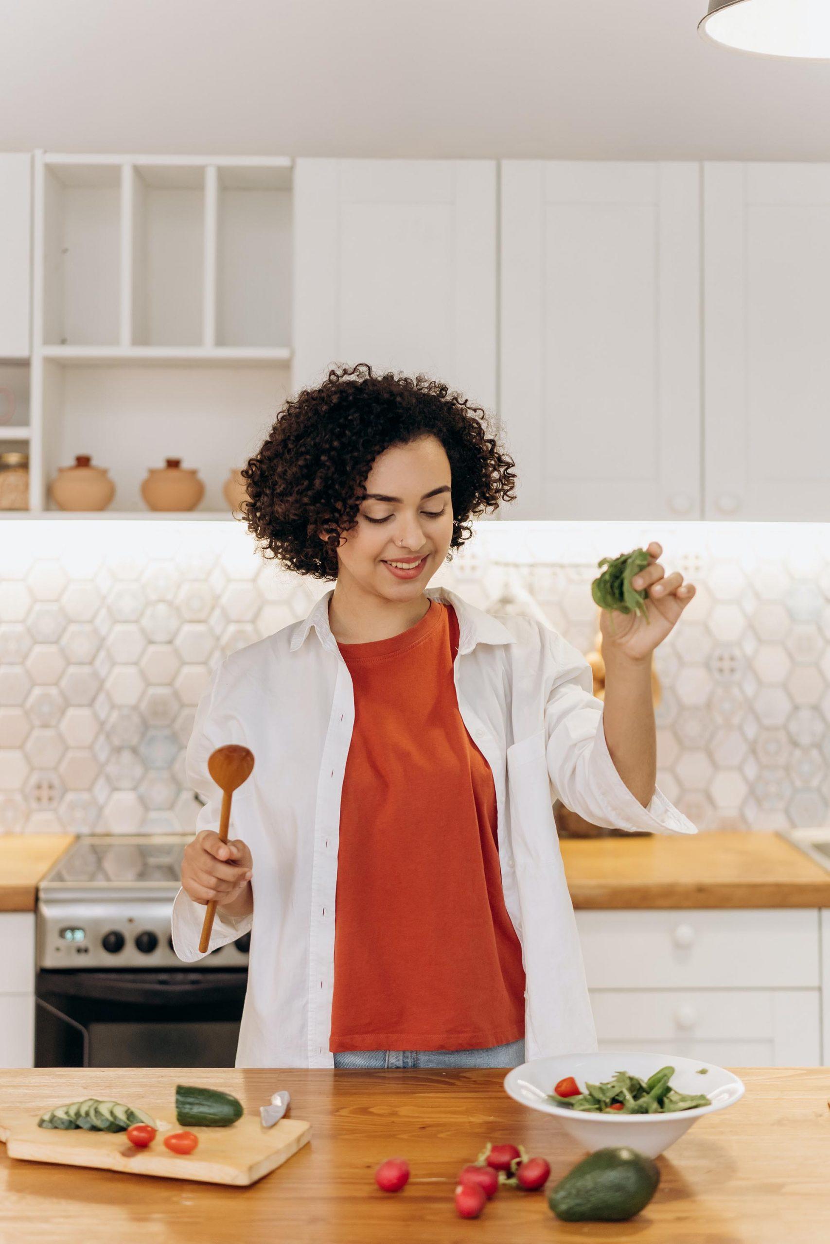 nấu ăn giúp tăng sự tự tin