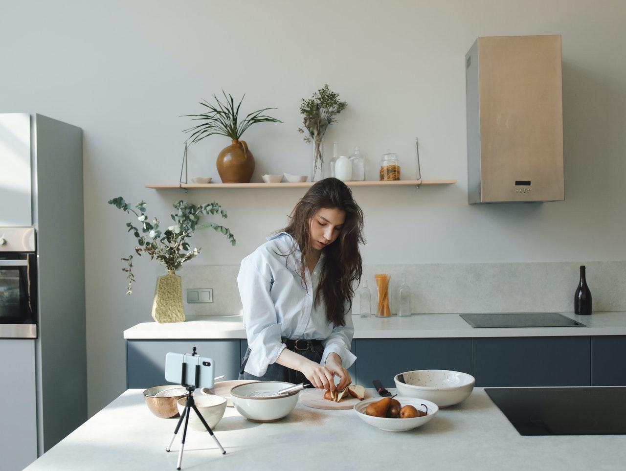 thực hành chánh niệm khi nấu ăn