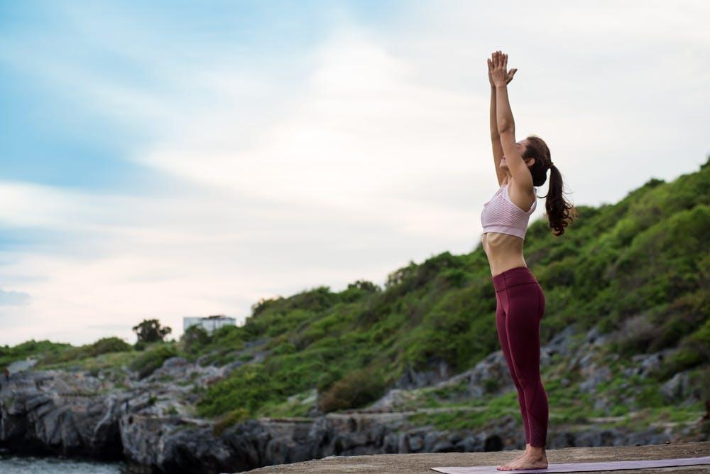 Tư thế Yoga Mountain Pose