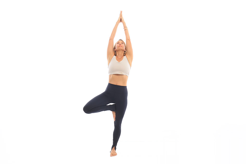 Tư thế Yoga Tree Pose