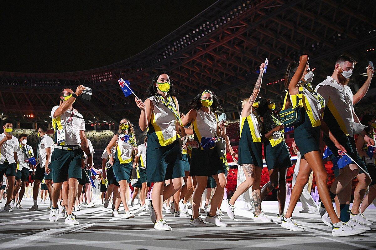 Olympic Tokyo 2020 đội tuyển Úc