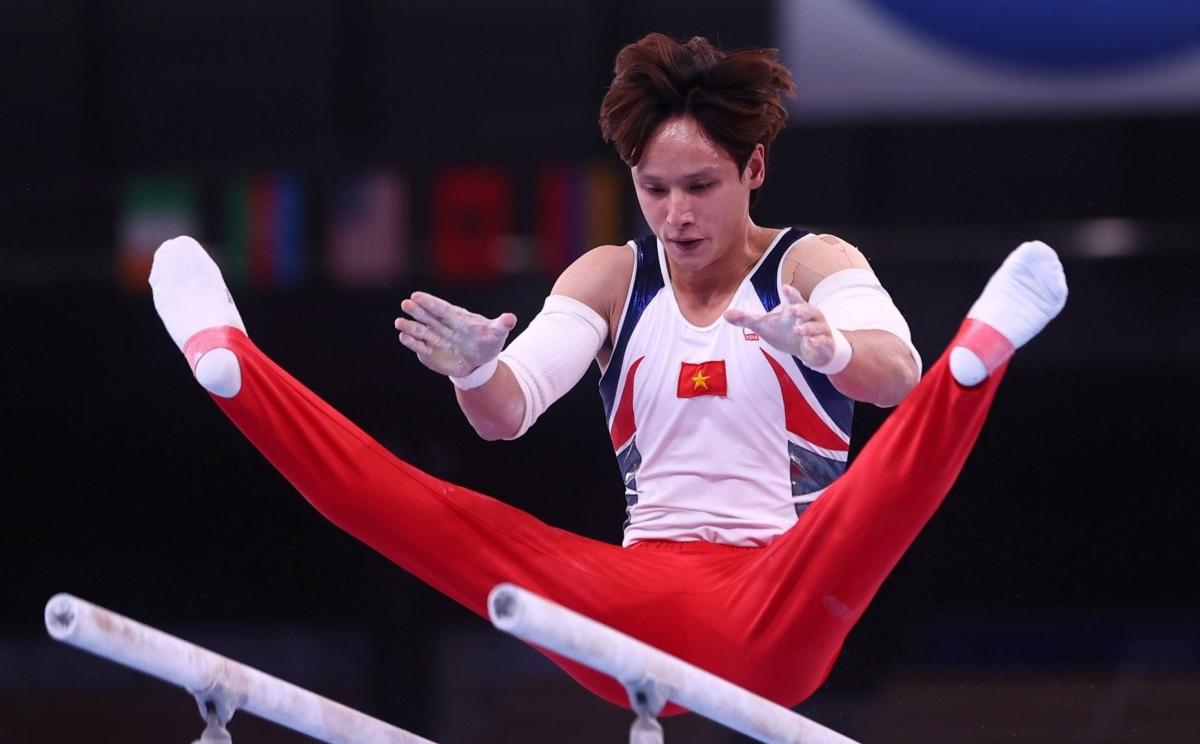 vận động viên đinh phương thành olympic 2020
