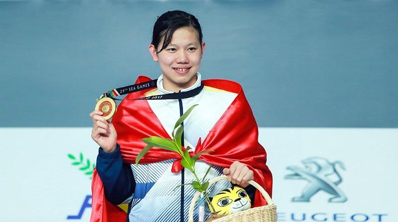 vận động viên nguyễn thị ánh viên tham dự olympic 2020