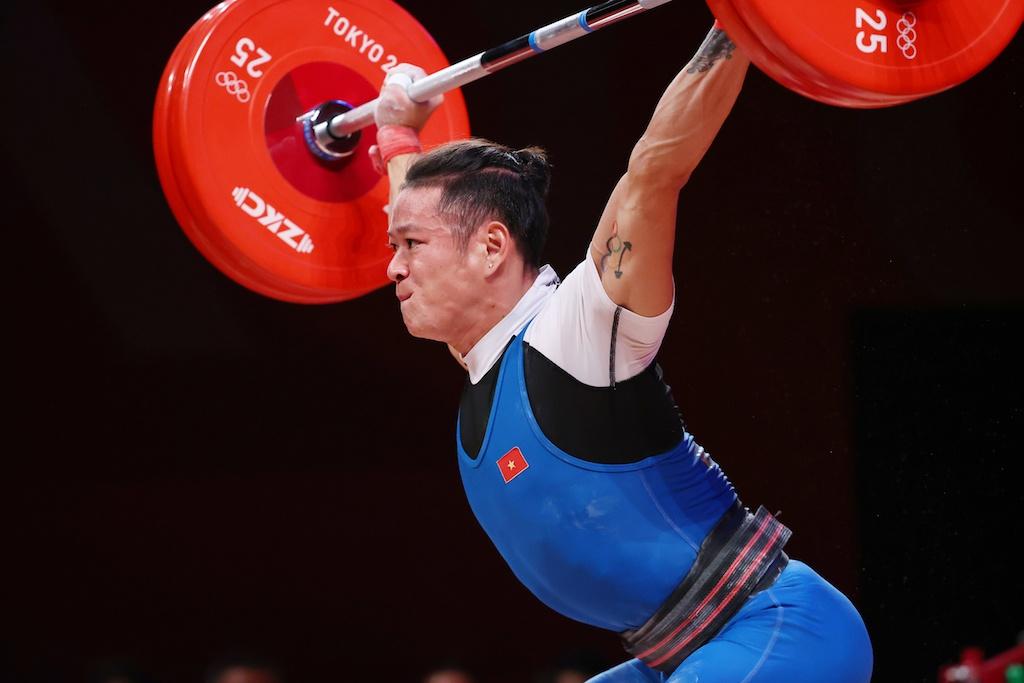 vận động viên thạch kim tuấn olympic 2020