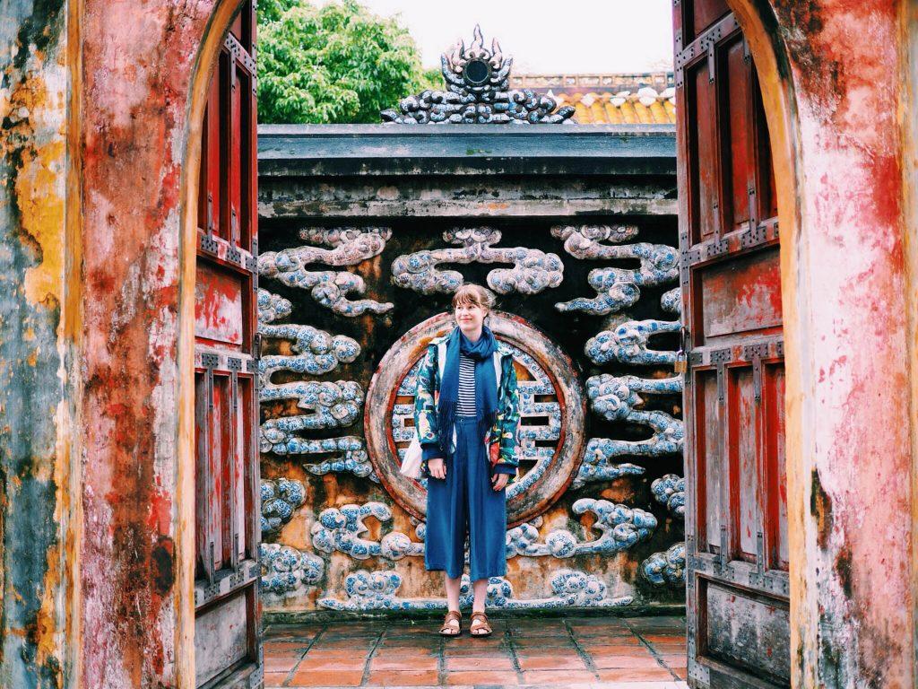 du lịch Emily Lush du lịch đến Huế