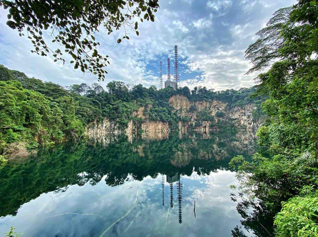 Singapore hồ nước chân đồi Bukit